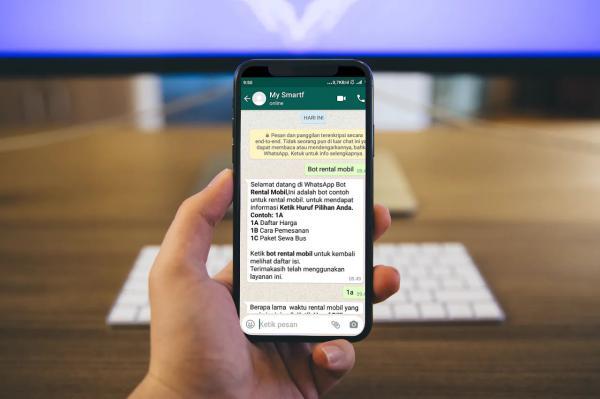 Whatsapp Chatbot Rental Mobil