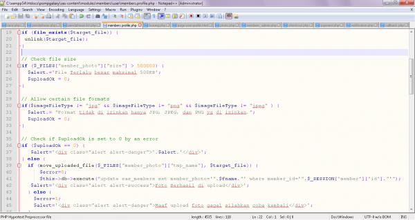 Bagaimana cara membuat Script upload image dengan php ?