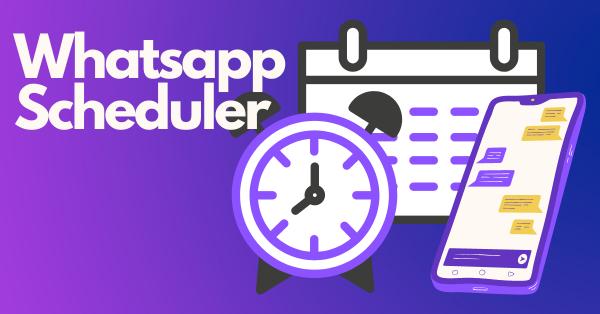 Whatsapp Scheduler kirim pesan whatsapp secara terjadwal