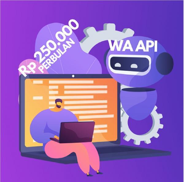 WA API whatsapp api  - Kirim pesan whatsapp jadi lebih mudah